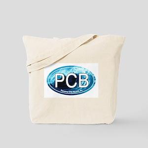 PCB Panama City Beach Oval Tote Bag