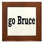 go Bruce Framed Tile