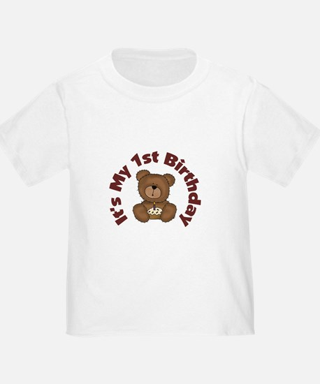 Teddy Bear 1st Birthday T