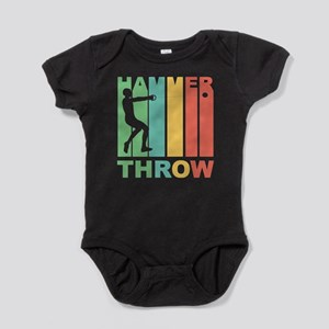 Vintage Hammer Throw Graphic T Shirt Body Suit