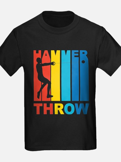 Vintage Hammer Throw Graphic T Shirt T-Shirt