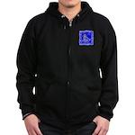 BlueCat Zip Hoodie (dark)