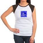 BlueCat Women's Cap Sleeve T-Shirt