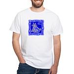 BlueCat White T-Shirt