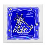 BlueCat Tile Coaster
