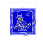 BlueCat Postcards (Package of 8)