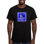 BlueCat Men's Fitted T-Shirt (dark)