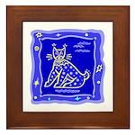 BlueCat Framed Tile