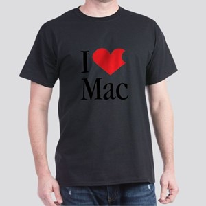 I Love Mac heart products T-Shirt