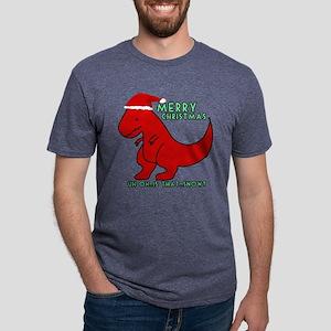 merry christmas cute dinosaur T-Shirt