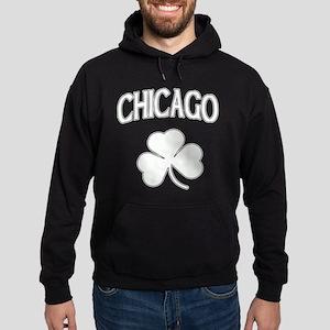Chicago Irish Shamrock Hoodie (dark)