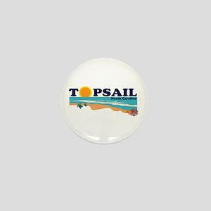 Topsail NC Mini Button