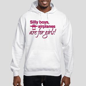 Silly boys... Hooded Sweatshirt