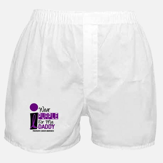 I Wear Purple For My Daddy 9 PC Boxer Shorts