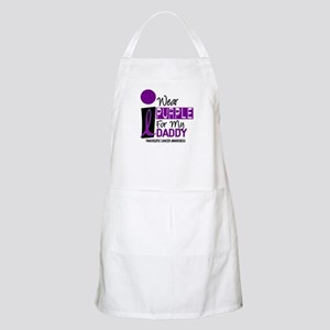 I Wear Purple For My Daddy 9 PC BBQ Apron