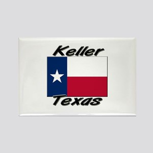 Keller Texas Rectangle Magnet