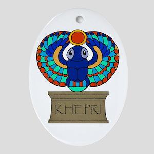 Khepri Oval Ornament