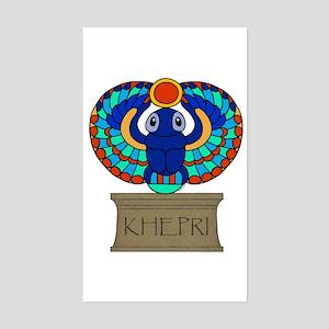 Khepri Rectangle Sticker