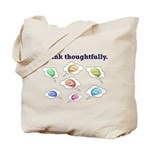 Think Thoughtfully Tote Bag