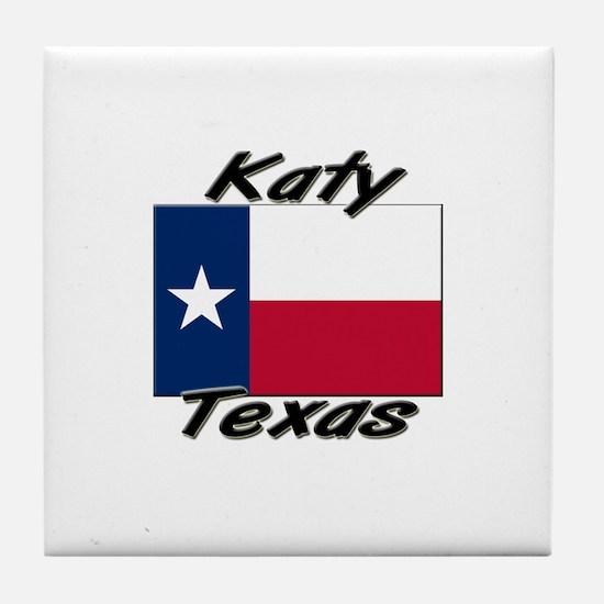 Katy Texas Tile Coaster