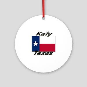 Katy Texas Ornament (Round)