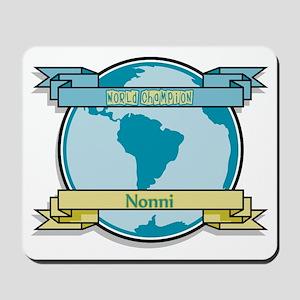 World Champion Nonni Mousepad