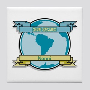 World Champion Nonni Tile Coaster