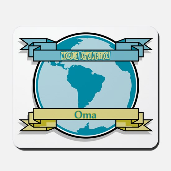 World Champion Oma Mousepad