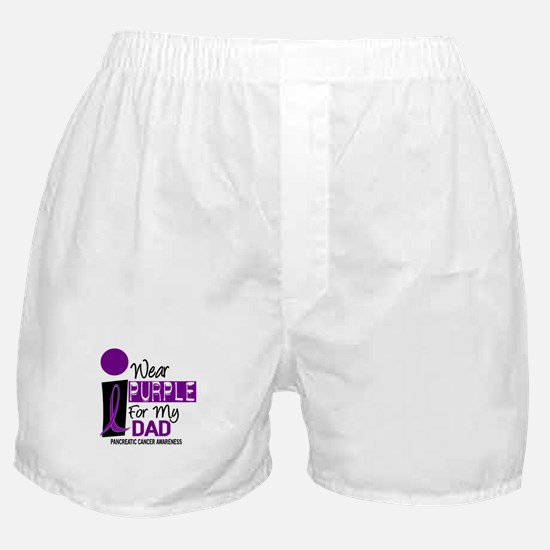 I Wear Purple For My Dad 9 PC Boxer Shorts