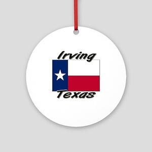 Irving Texas Ornament (Round)