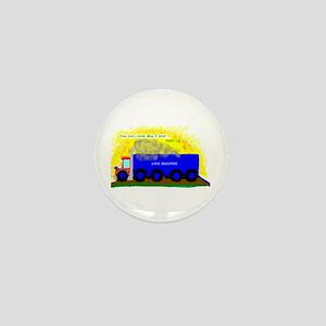 Semi Truck/Mini Button