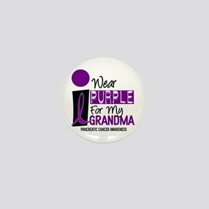 I Wear Purple For My Grandma 9 PC Mini Button