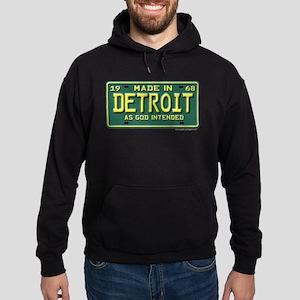 Made in Detroit Hoodie (dark)
