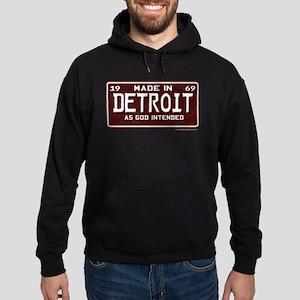 made in Detroit 1969 Hoodie (dark)