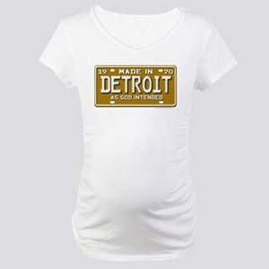 Made in Detroit Maternity T-Shirt