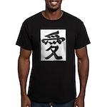 Love Japanese Kanji Men's Fitted T-Shirt (dark)