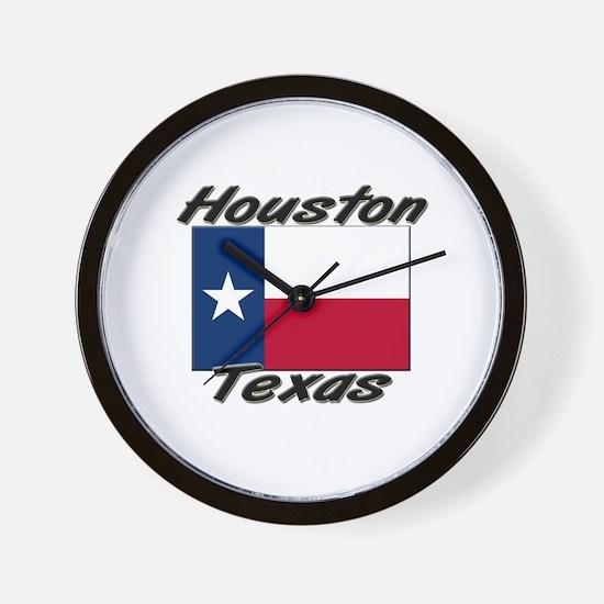 Houston Texas Wall Clock