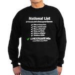 Endangered Species Sweatshirt (dark)