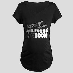 Air Force Boom for darks Maternity Dark T-Shirt