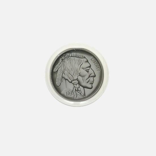 Indian Head Nickel<br> Mini Button