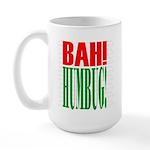 """""""Bah Humbug!"""" Large Mug Mugs"""