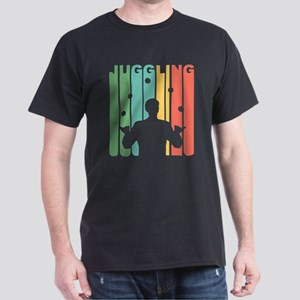 Vintage Juggling Graphic T Shirt T-Shirt