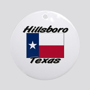 Hillsboro Texas Ornament (Round)