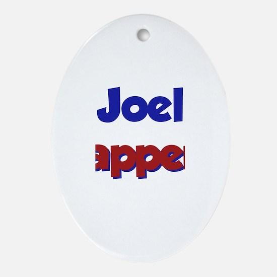 Joel Happens Oval Ornament