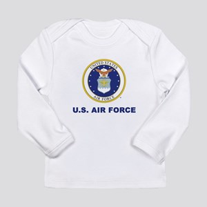 U.S Air Force with Seal Long Sleeve T-Shirt
