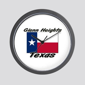 Glenn Heights Texas Wall Clock