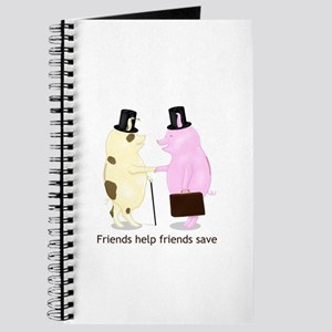 Friends Help Friends Save Journal