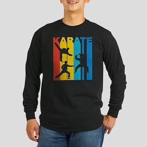 Vintage Karate Graphic T Shir Long Sleeve T-Shirt