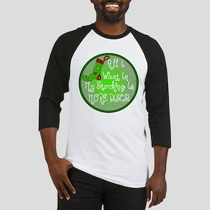 Stocking Discs Christmas Baseball Jersey