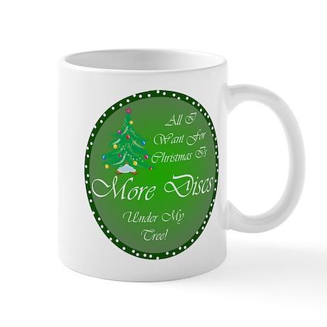 Christmas Tree Golf Discs Mug
